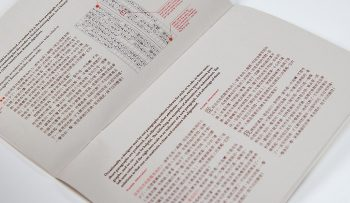 C & J Type, Zine #3, Typesetting, Setting Type, designed by Miyu Shirotsuka