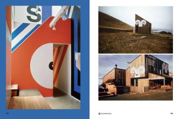 EMFR, featuring Barbara Stauffacher Solomon's Sea Ranch super graphics, 1966–67
