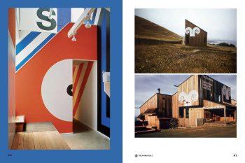 EMFR, featuring Barbara Stauffacher Solomon's Sea Ranch super graphics, 1966–67