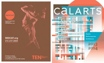 2013–14 performance program designed by Cassandra Chae, Office of Public Affairs, CalArts