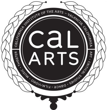 Totebag insignia designed by Joe Prichard, Office of Public Affairs, CalArts