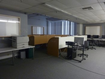 The old MacLab, virtually unchanged since being remodeled in 1993, just before the Northridge earthquake of 1994