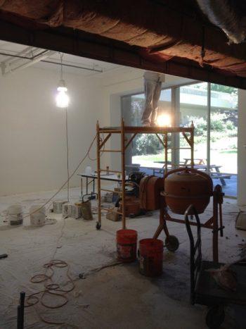 Phase2: rebuilding walls, ceilings and floors