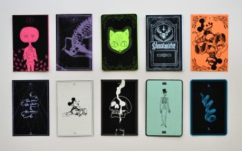 Hidden tarot cards, find one to get a free poster!