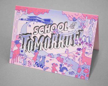 School of Tomorrow, CalArts,design byBijan Berahimi and Chris Burnett, 2013