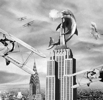 Empire Dolphin T-Shirt, Odd Future, Chris Burnett, 2014