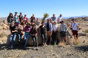 The full cast of characters, Joshua Tree national park.