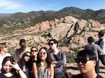 Site visit number 1,Vasquez Rocks