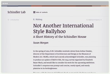 An insightful history of the Schindler House written by Susan Morgan