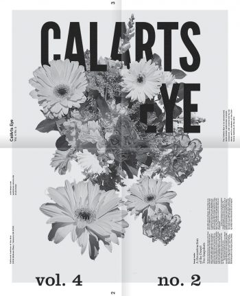 'CalArts Eye' publication by Margaret Andersen and David Chathas.