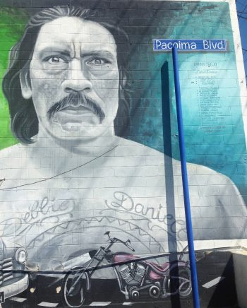 Mural of actor and Valley resident, Danny Trejo