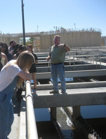 Kate Ludwig, Closeup at Valencia Water Reclamation Plant