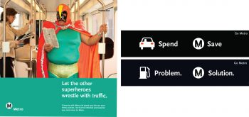 L.A. Metro ads