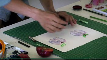 Fundamentals imagemaking demo by alum Calvin Rye