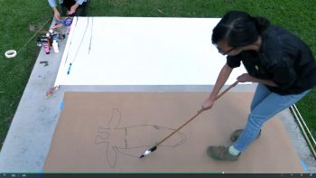 Imagemaking demo by alumTiffany Tran, fromGail Swanlund's course