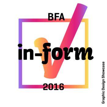 BFA End of Year Show logo
