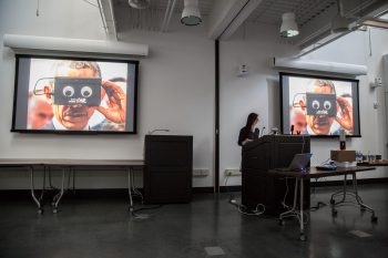 MFA alum Jessica Lee discusses typography in a VR environment