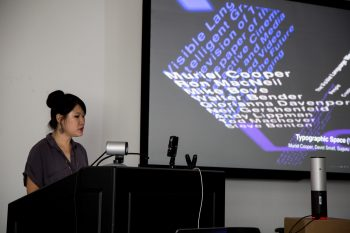MFA student Sharleen Chen provides a contextual overview of typography in digital space.