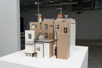 A miniature building, c. 2002.