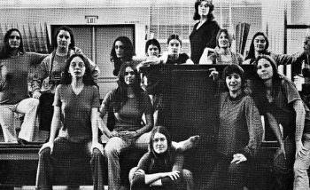 calartsgd The Women's Design Program at CalArts, 1971 #tbt #graphicdesign #womendesigners