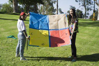 Cootie Catcher, by Aisha Alkiney, Christina Huang, Yuchen Liu, and Vivian Naranjo