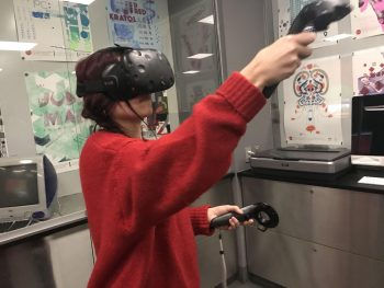 Students experiment with Virtual Reality in 360 Live Design