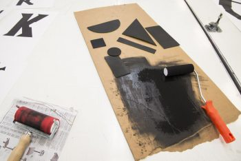 Students' print experiments